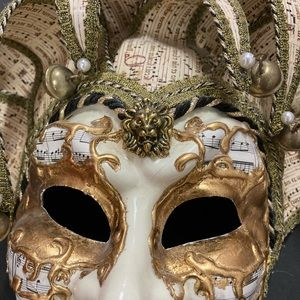 Italy Accents - Vintage Carnival Mask  Italy